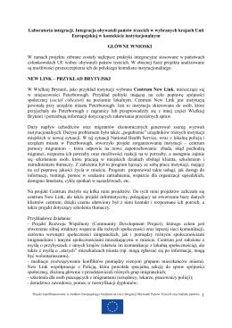 Skrót publikacji Mirosława Bienickiego i Mikołaja