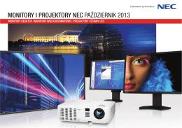 NEC - Projektory biznes i instalacyjne