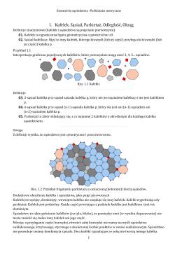 Geometria Sąsiedztwa - Parkietaże metryczne 2.0