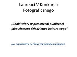prezentacja nagrodzonych prac w formacie pdf - kliknij