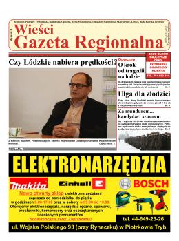 Czytaj on-line - Wieści Gazeta Regionalna