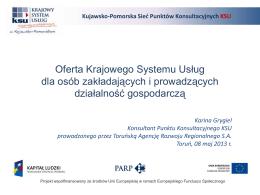 Punkty Konsultacyjne Krajowego Systemu Usług