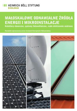 Małoskalowe odnawialne źródła energii i Mikroinstalacje