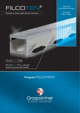 Prospekt FILCOTEN light/tec