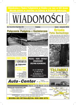 Lipiec - Sierpień - wiadomosci.krakow.pl