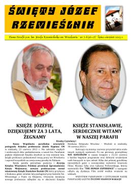 święty józef rzemieślnik - Parafia Św. Józefa Rzemieślnika we