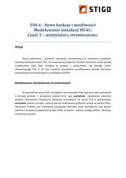 Nowe funkcje i możliwości Modelowanie instalacji HVAC: Część 3