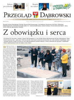 Przegląd Dąbrowski nr. 8/2010