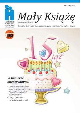 Informator nr 29/2012 - Lubelskie Hospicjum dla Dzieci im. Małego