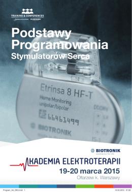agendą - Akademia Elektroterapii