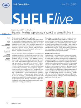 Brazylia: Melitta wprowadza WAKE w combifit Small