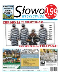 Kwiecień 2013 - Słowo Wrocławian