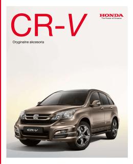CR-V broszura
