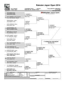 Rakuten Japan Open 2014