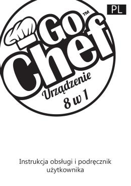 Instrukcja obsługi Go Chef