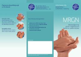 Informacje dla pacjentów i członków rodziny - MRE-Rhein-Main