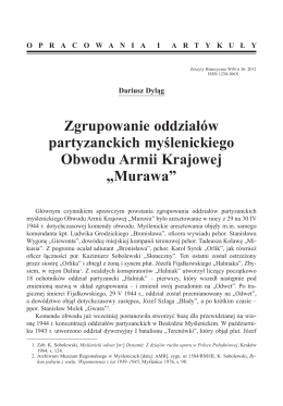 Murawa - Dariusz Dyląg