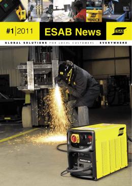 Esab News 2011/1