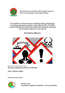 SYNTEZA PRACY - Narodowy Fundusz Ochrony Środowiska i