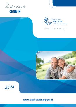 Połczyn zdrowie cennik 2014 c15 pl A5 12 str