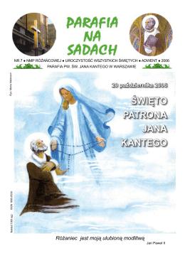 Na Sadach nr - Parafia Rzymskokatolicka św. Jana Kantego w