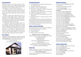 Komunikat (PDF) - kntwe 2014 - Wojskowa Akademia Techniczna