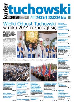 Numer 6 (21) CZERWIEC 2014 - Dom Kultury w Tuchowie
