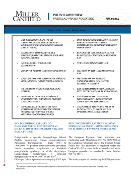 polish law review przegląd prawa polskiego nr 2/2014