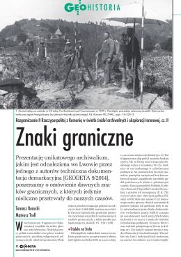 Rozgraniczenie II Rzeczypospolitej z Rumunią w świetle źródeł