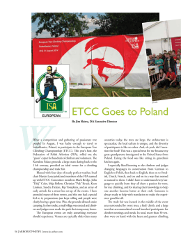 ETCC Goes to Poland