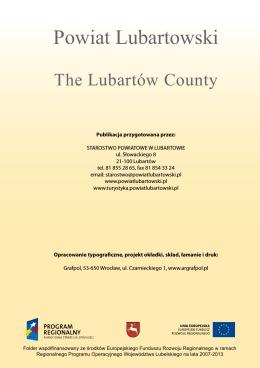 Folder powiatu lubartowskiego (wersja polsko – angielska)