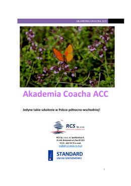 Akademia Coacha ACC
