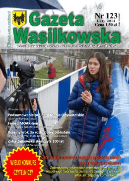 Numer 123 - Gazeta Wasilkowska