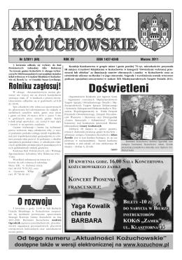 Nr 3/2011 - Oficjalna strona miasta i gminy Kożuchów
