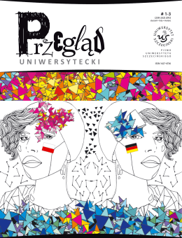 ISSN 1427-4736 - Przegląd Uniwersytecki