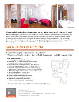 oferta pdf - Creative Hub Targowa