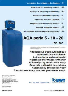 MANUAL AQA perla 5-10-20 FR - GB - NL - DE - PL