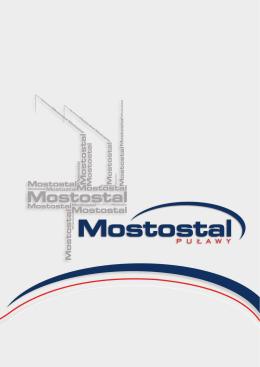 folder firmy mostostal puławy s.a.