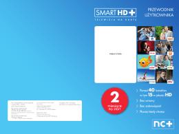 przewodnik po ofercie SMART HD+ - Glob-Sat