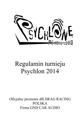 Psychlon regulamin 2014
