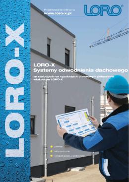 LORO-X Systemy odwodnienia dachowego - LORO-X.pl