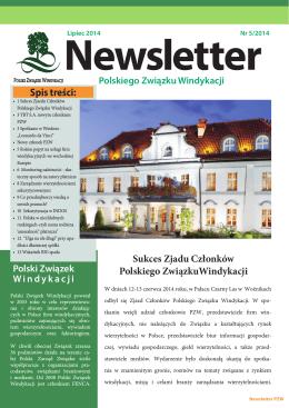 Newsletter PZW lipiec.indd - Polski Związek Windykacji