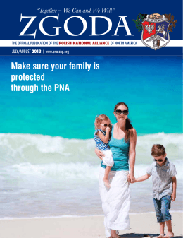 Make sure your family is protected through the PNA