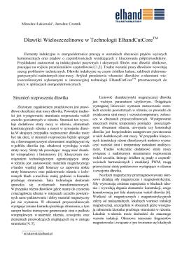 Dławiki Wieloszczelinowe w Technologii ElhandCutCoreTM