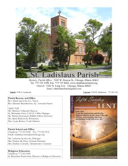 2014 4-06 - Parafia św. Władysława w Chicago