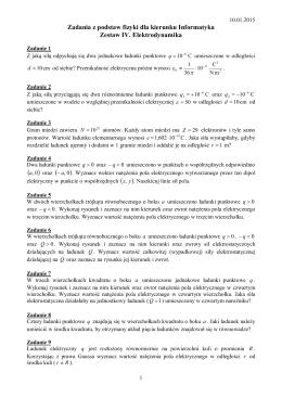 Ćwiczenia tablicowe z automatyki
