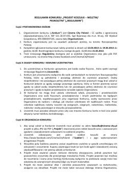 Regulamin obozów SportujMy.pl