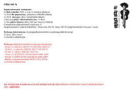 Broszura - Ochrona cietrzewia T.tetrix i jego ostoi w Sudetach