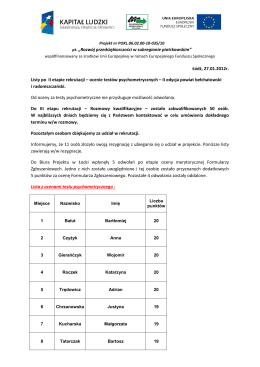 procedura skreślania ucznia z listy uczniów zespołu szkół nr 33 w