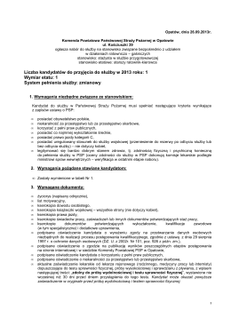 Komenda Powiatowa Państwowej Straży Pożarnej w Sulęcinie